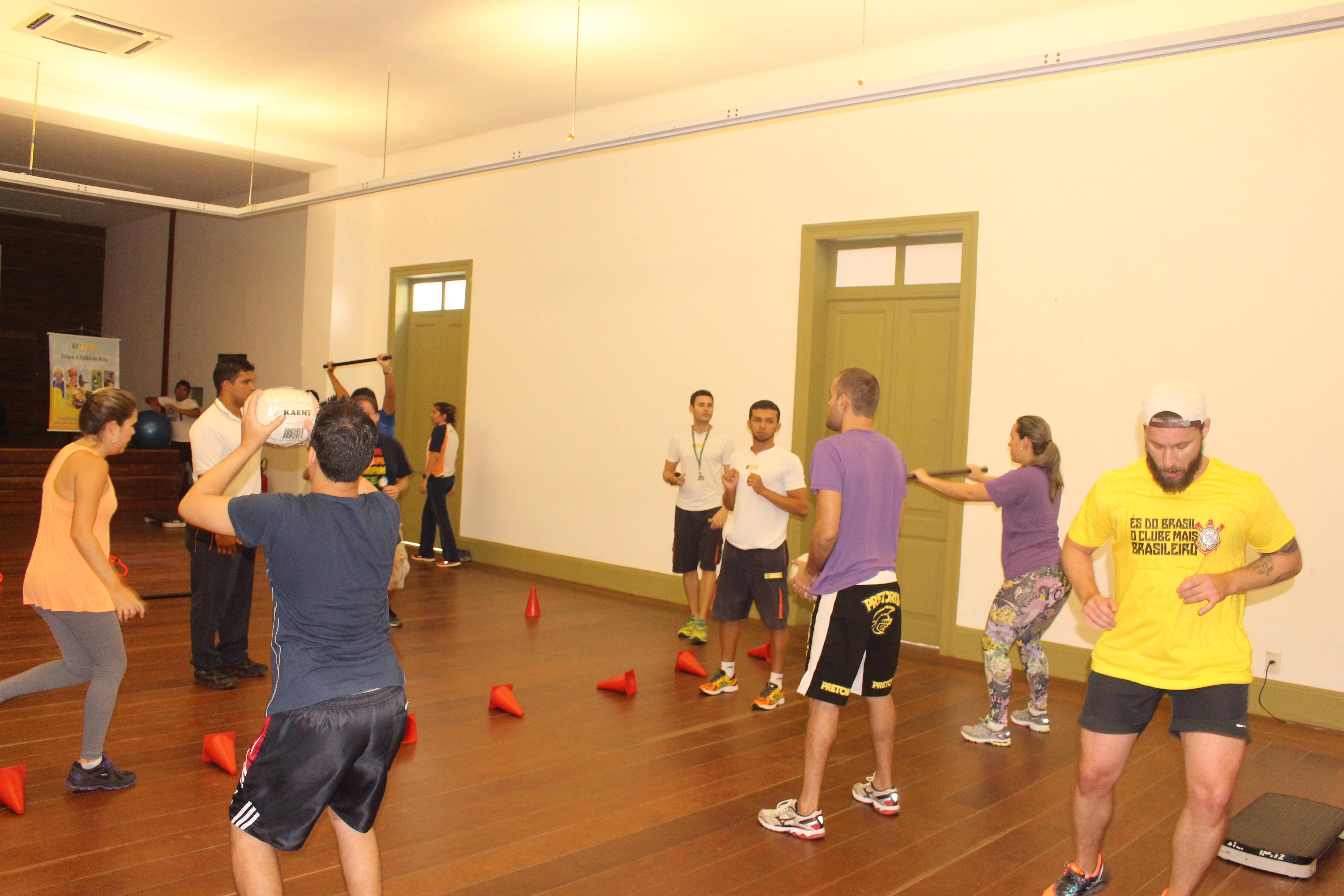 Atividades físicas corporativas estão mais frequentes entre empresas cearenses (FOTO: Divulgação)