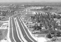 Avenida Aguanambi tinha um cenário bem diferente em 1972 (Foto: Reprodução)
