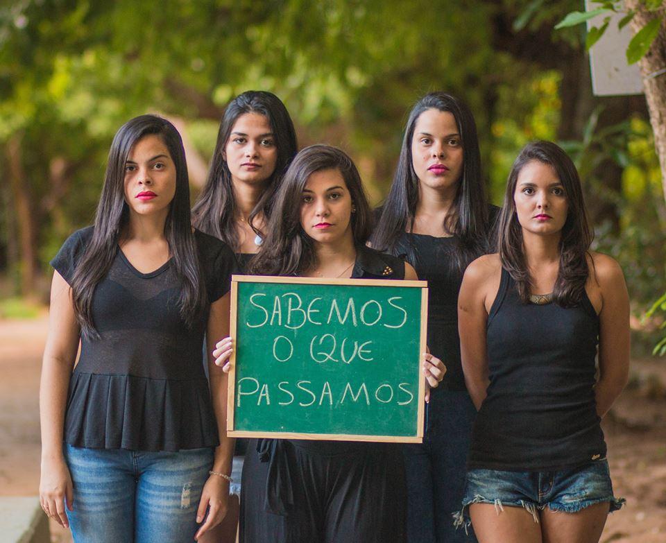 Projeto reuniu cinco jovens no Anfiteatro do Parque do Cocó (FOTO: Rafael Morais)
