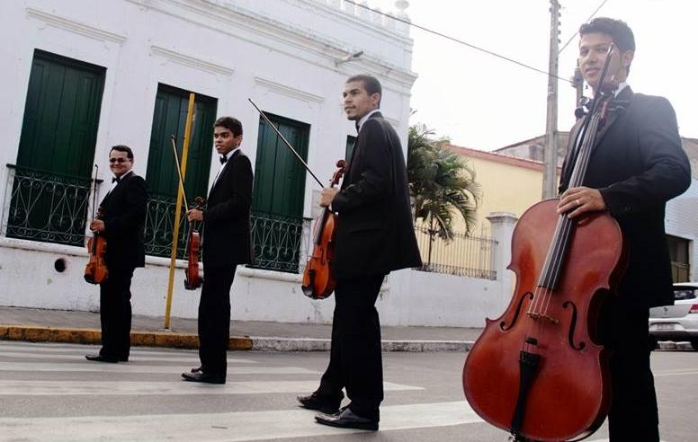 Siara Quarteto faz parte da Orquestra Sinfônica da Uece (FOTO: Sheila Castelo Branco)