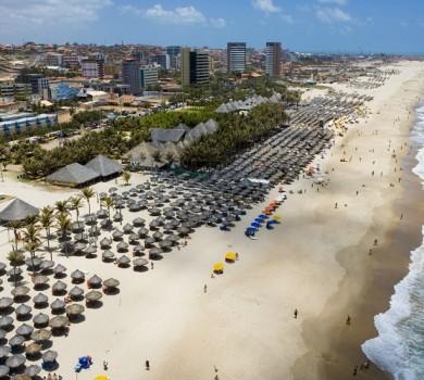 Praia do Futuro é a mais visitada de Fortaleza (FOTO: Divulgação)