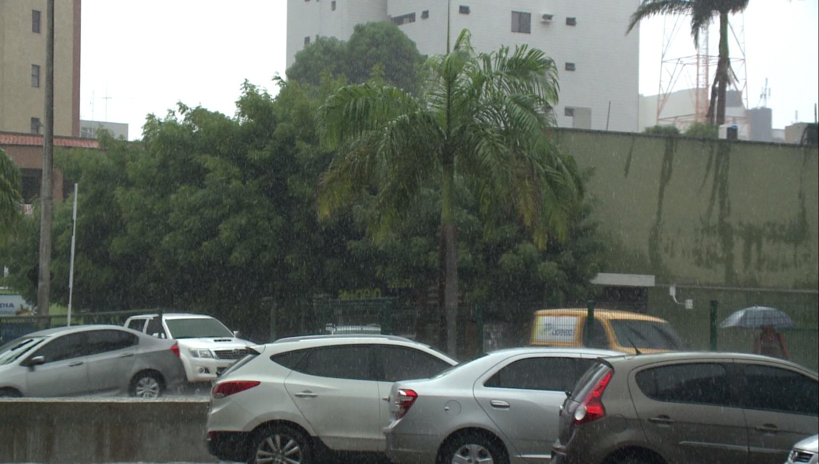A segunda metade da quadra tem previsão de chuvas a baixo da média. (FOTO: Reprodução/TV Jangadeiro)