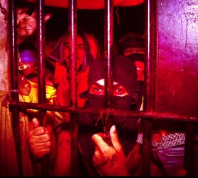 Superlotação na delegacia de Baturité (FOTO: Reprodução TV Jangadeiro)