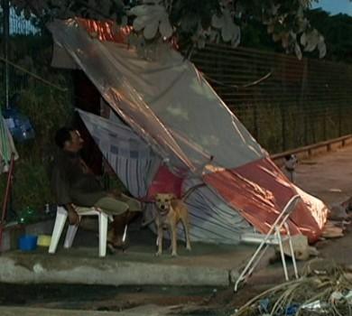 O Jesus das ruas de Fortaleza (FOTO: Reprodução TV Jangadeiro)
