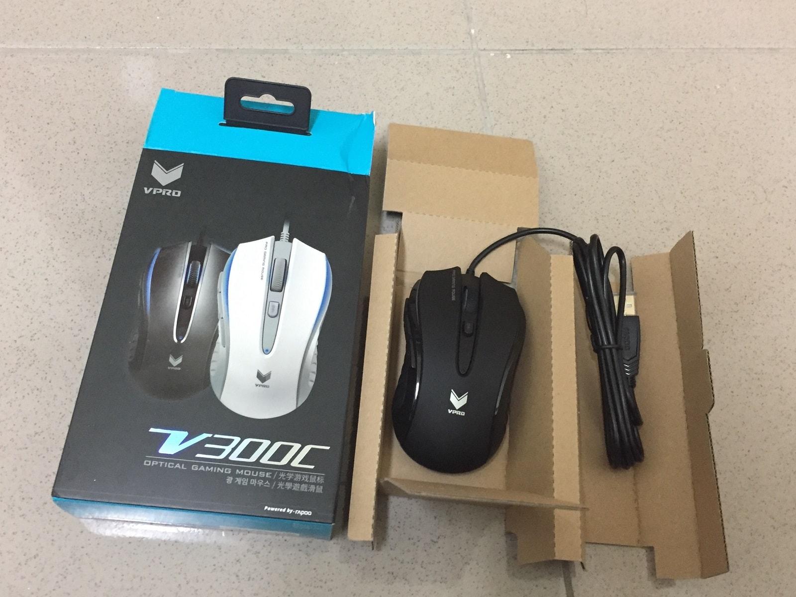 雷柏 V300C 滑鼠