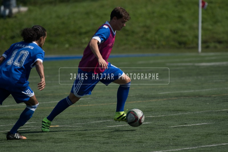 Soccer masculin Carabins - Match 17 sept