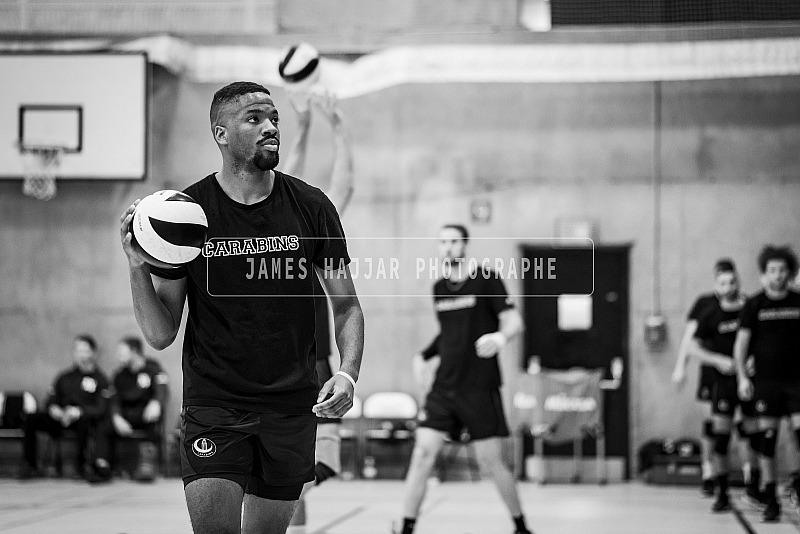 Volleyball masculin Carabins - match d'ouverture