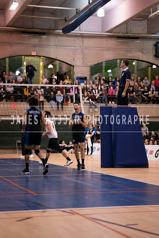 Volleyball masculin Carabins - match 9 nov