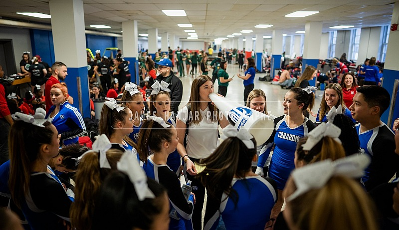 Cheerleaders Carabins - Compétition Kicks 25 nov 2018