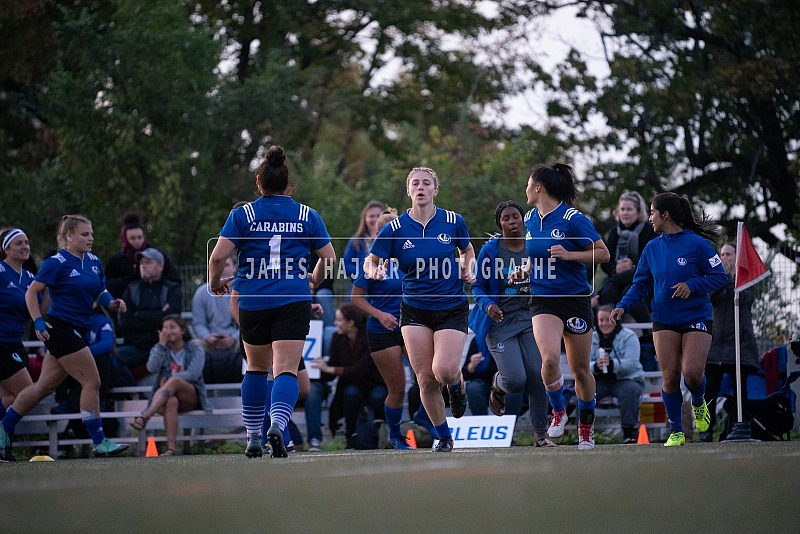 Rugby féminin - Carabins vs Stingers 13 sept