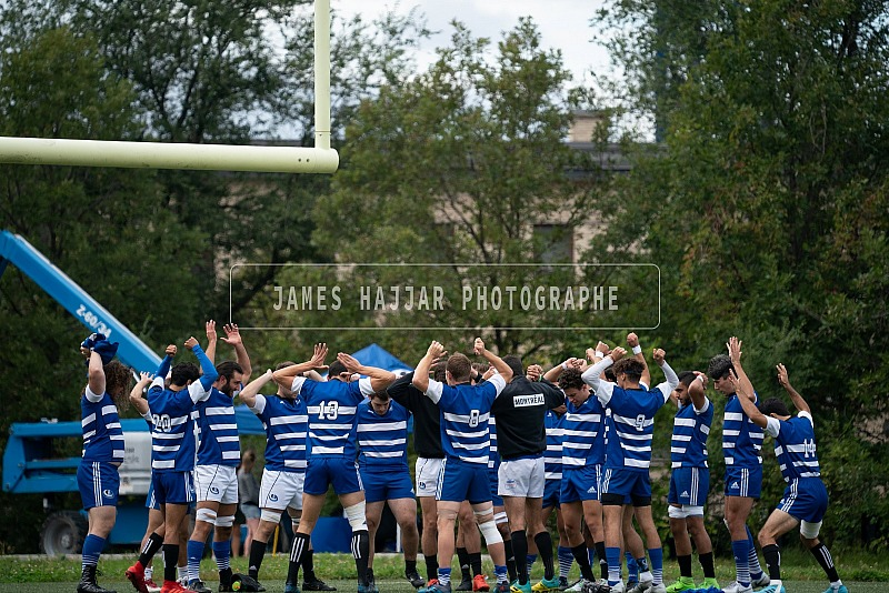 Rugby masculin - Carabins vs Vert et Or 15 sept