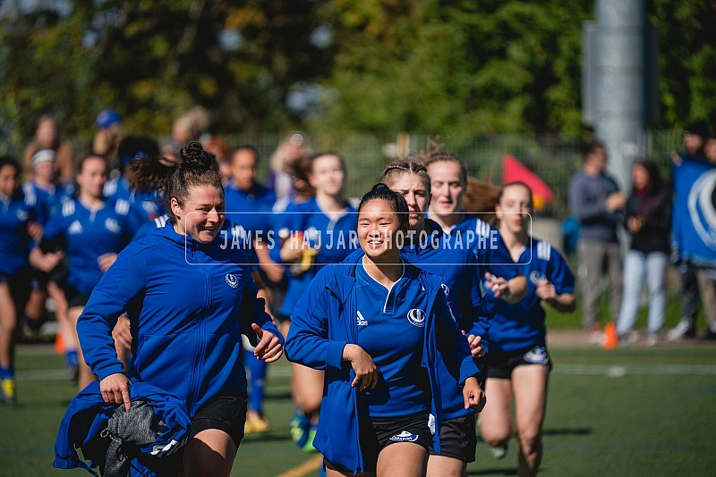 Rugby Féminin - Carabins vs Gaiters 5 octobre