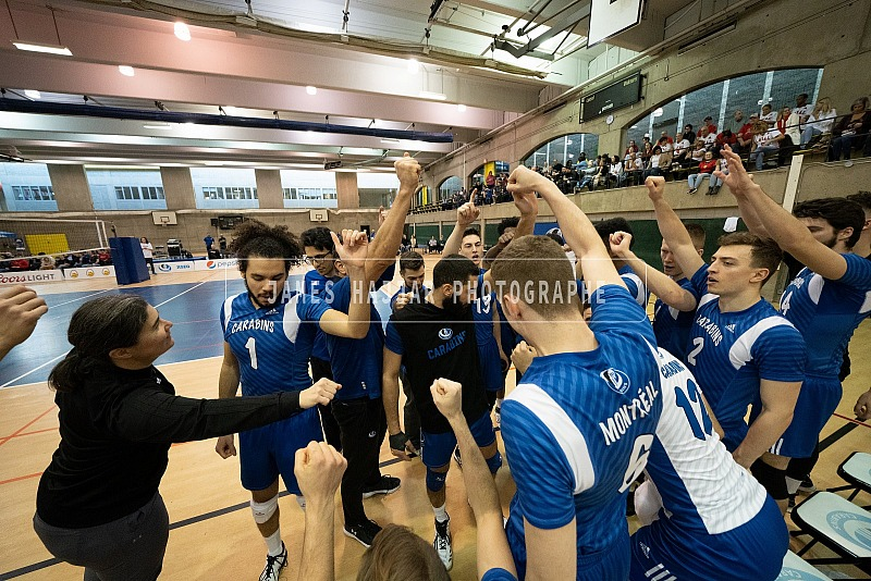 Volleyball masculin - Carabins vs Rouge et Or Finale RSEQ
