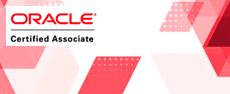 - OCA: Oracle Database Administrator Certified Associate