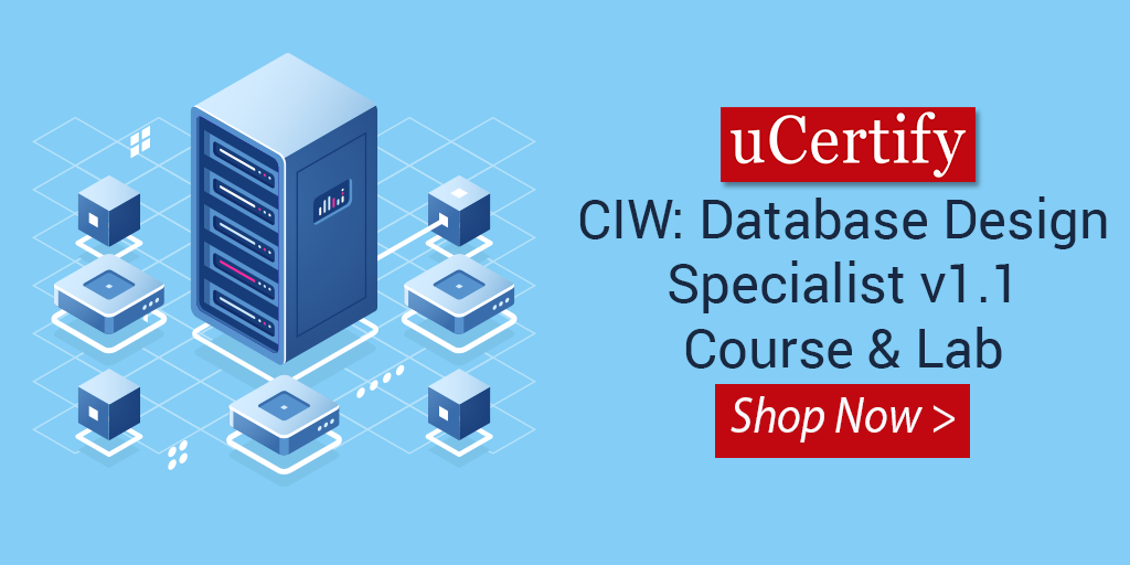 Check Out Our Latest Released CIW Database Design Course For 1D0-541 Exam