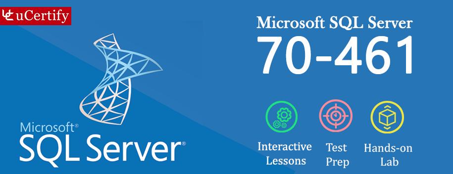 70 461 Complete Mcsamcse Microsoft Sql Server Ucertify