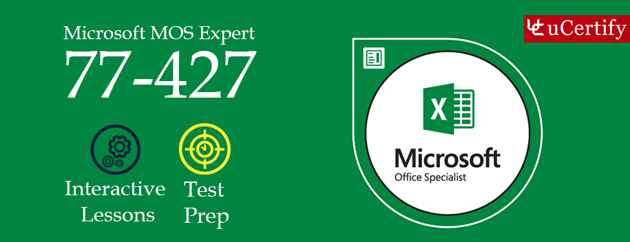 77-427 : MOS: Microsoft Excel 2013 Expert Part 1