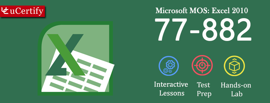 77-882-complete : MOS: Microsoft Excel 2010 (Course & Lab)