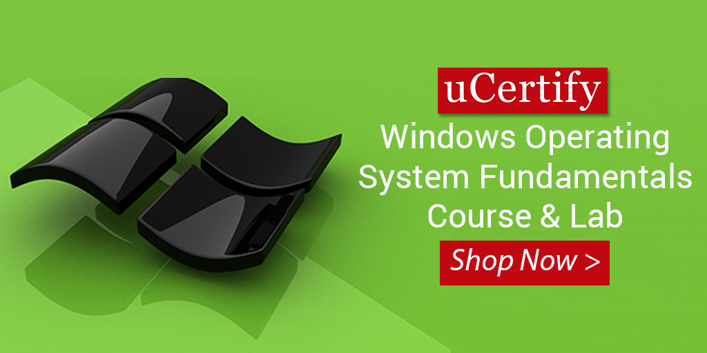 Pass The Microsoft MTA 98-349 Exam With uCertify Course & Lab