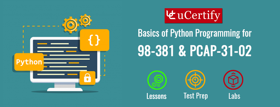 98-381 : MTA: Basics of Python Programming (98-381 & PCAP-31-02)
