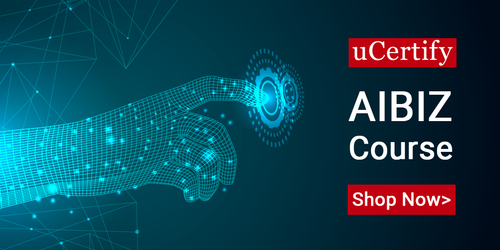 Be a certified Artificial Intelligence Professional with uCertify