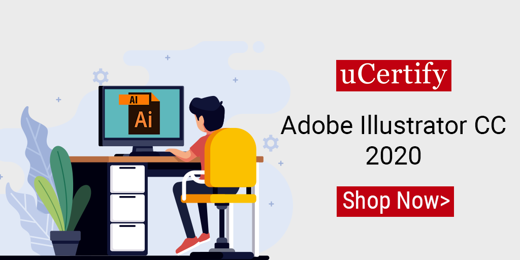 Check out uCertify latest Adobe Illustrator CC course and lab