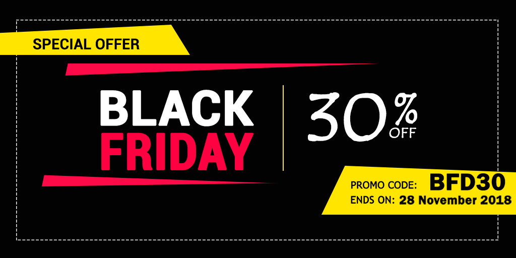 Check Out The Exciting 30% Site-wide Off at uCertify Black Friday Sale!