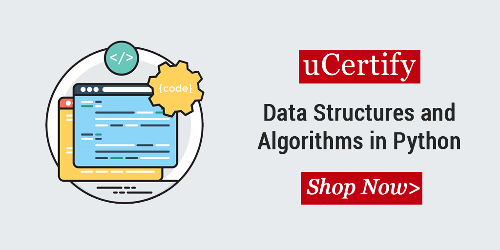 Check out our latest release: Data Structures and Algorithms in Python