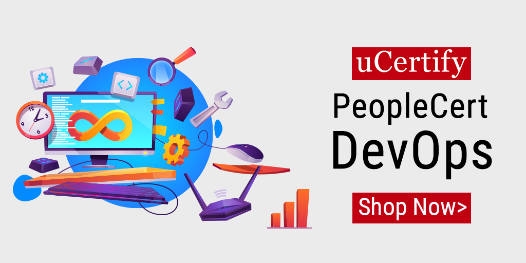 Check out uCertify's PeopleCert DevOps Certification Prep