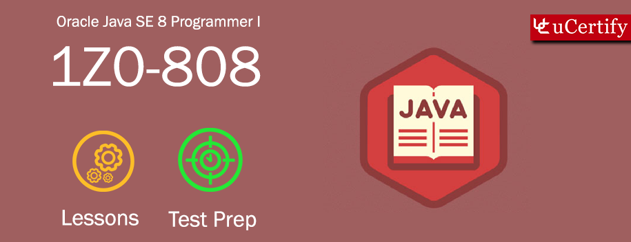 MHE-1Z0-808 : [ORACLE PRESS] OCA Java SE 8 Programmer Course for Exam 1Z0-808