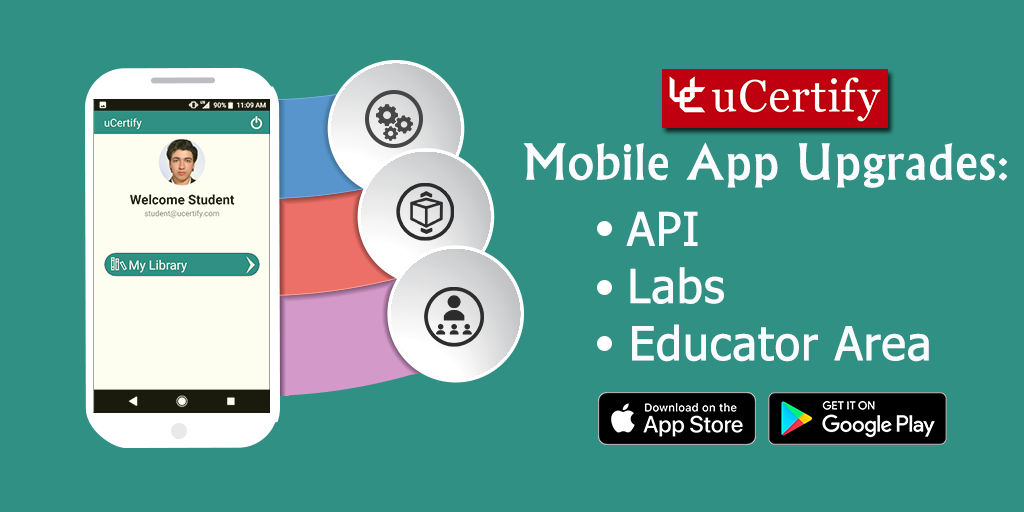 Improvements in User Interface and API of uCertify Learn Mobile App