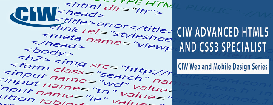 1D0-620 : CIW: Advanced HTML5 and CSS3 Specialist (1D0-620)