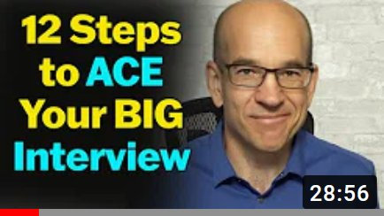 how to pass your big interview
