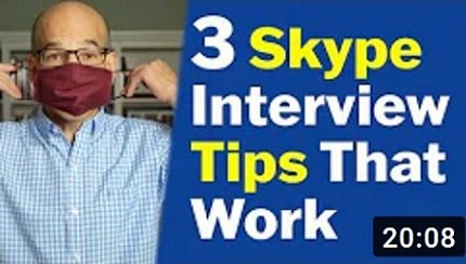 video interview skype tips