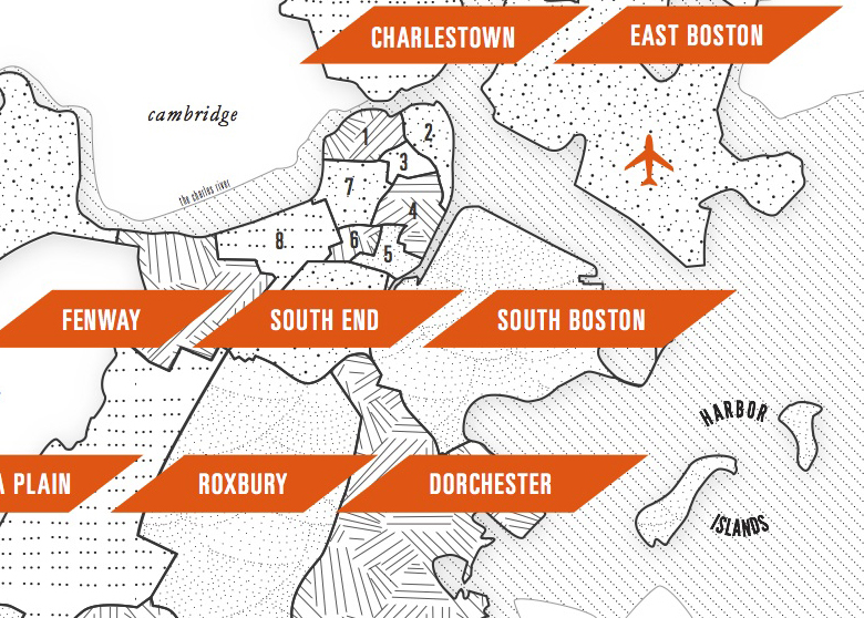 boston map detail