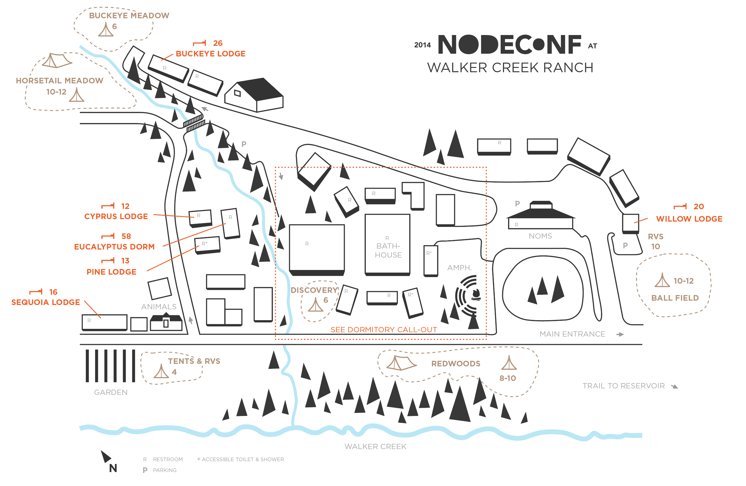 nodeconf map