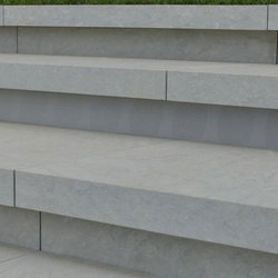 Lr stone embedded staircase