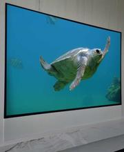 Digital interiors glass tv 1