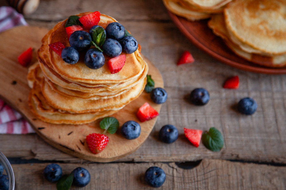 Mixed Berry Pancake Recipe