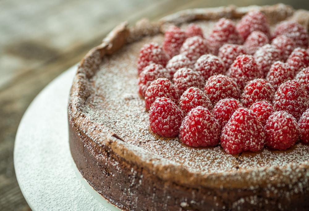 Yummy Flourless Chocolate Cake