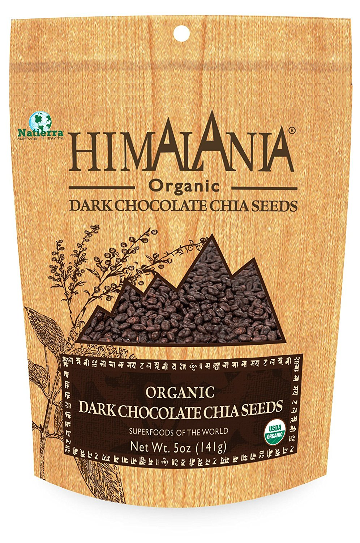 Natierra Himalania Dark Chocolate Chia Seeds