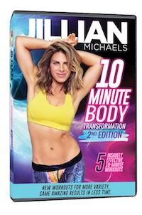 Jillian Michaels 10 Minute Body Transformation 2nd Edition