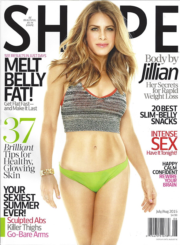 Shape Magazine June 2015 Cover with Jillian Michaels