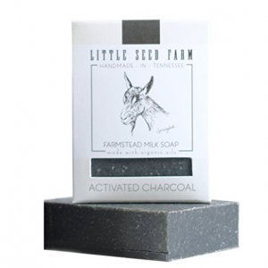 Little Seed Farm Activated Charcoal Organic Facial Soap