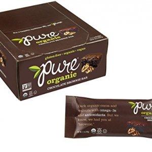 Pure Organic Chocolate Brownie Bar