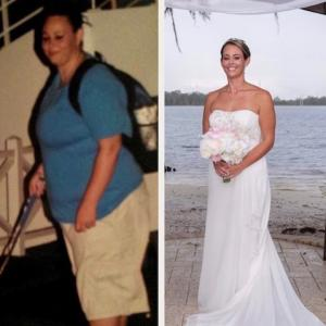Ashley W. lost 120 pounds with Jillian Michaels dynamic My Fitness app.