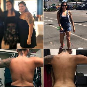 Niki lost 65 pounds with Jillian Michaels dynamic My Fitness app.