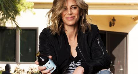 Jillian Michaels with Lucky Jack Cold Brew Coffee