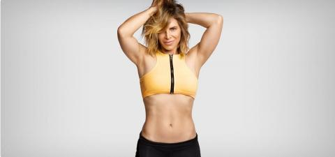 Jillian Michaels' Sexy Abs
