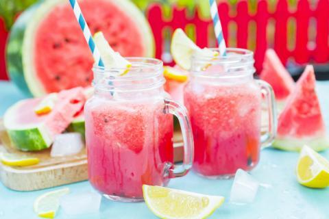 Strawberry Watermelon Smoothie Recipe